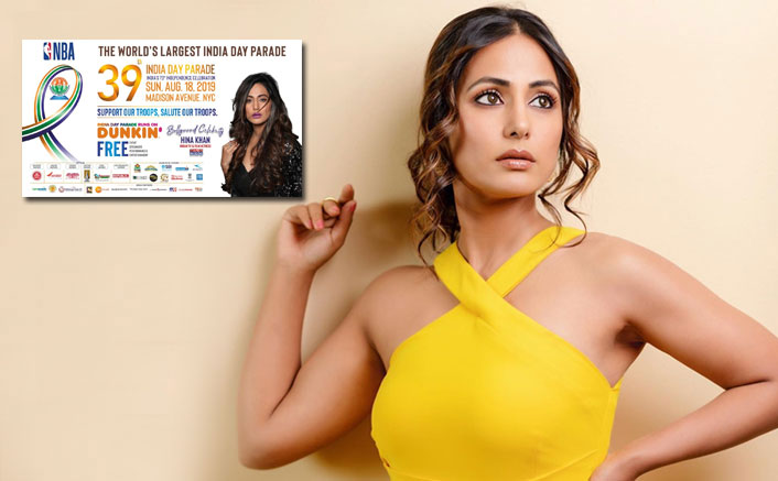 Telly Star Hina Khan Becomes The First Television Actress To Be Invited For India Day Parade In New York