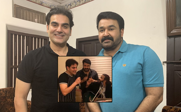 VIDEO: Mohanlal Celebrates His Co-Star Arbaaz Khan's Birthday With A Nostalgic Touch!