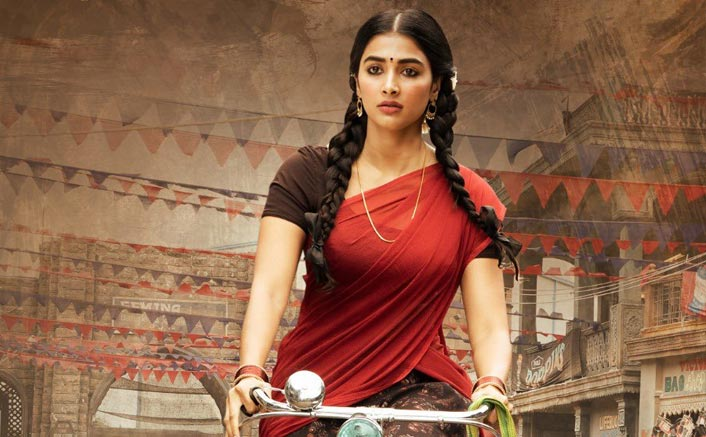 Valmiki Poster OUT! Pooja Hegde Rides A Bicycle As A Village Belle