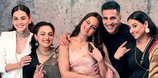 VIRAL VIDEO: Akshay Kumar Dancing On 'Mundian To Bach Ke' With Sonakshi Sinha, Taapsee Pannu & Nithya Menen Is The Best Thing You'll See On the Internet Today!