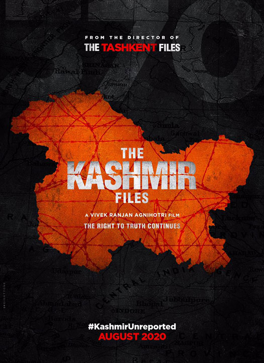 Vivek Ranjan Agnihotri celebrates Independence Day with the launch of the first look of The Kashmir Files