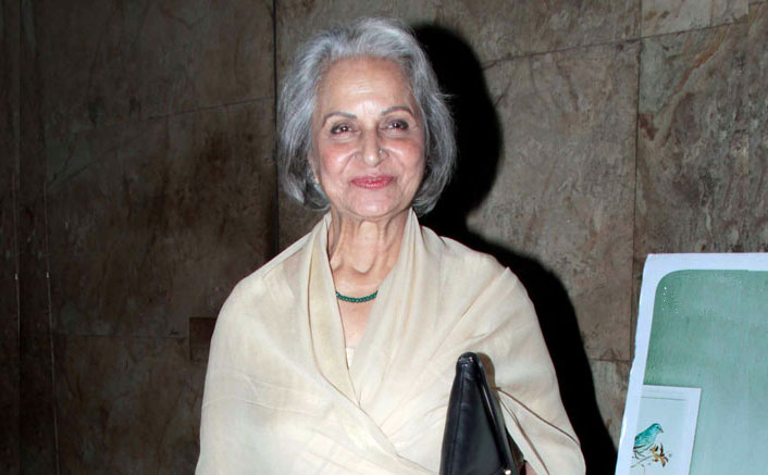 Waheeda Rehman Is Back In Udaipur After 54 Years & This Is The Reason