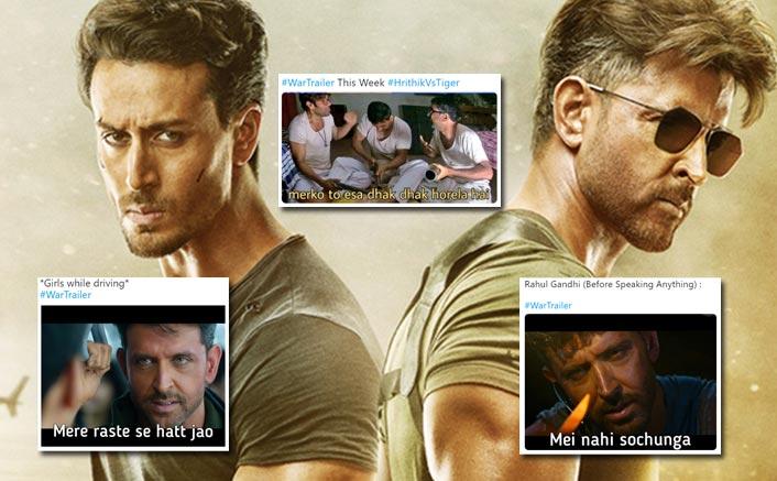 War Trailer Memes: Hrithik Roshan VS Tiger Shroff Starrer Invites Frenzy Of Memes Bursting Us Into Laughters!