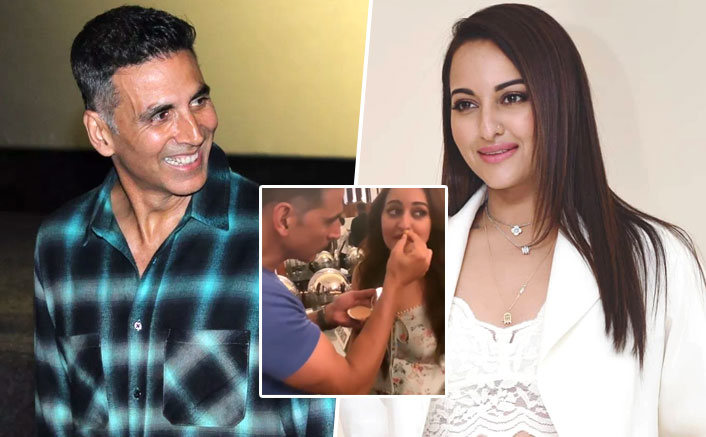 VIDEO: When Akshay Kumar Turned Make-Up Man For His Mission Mangal Co-Star Sonakshi Sinha