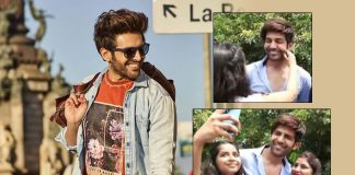 Watch Kartik Aaryan's Expressions As A Female Fan Pulls His Cheeks & Tells Him Aap Bahot Cute Ho