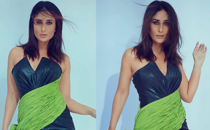 Why So Sexy Bebo? Kareena Kapoor Khan Is Every Bit Of Perfection In This Leather Faux Dress