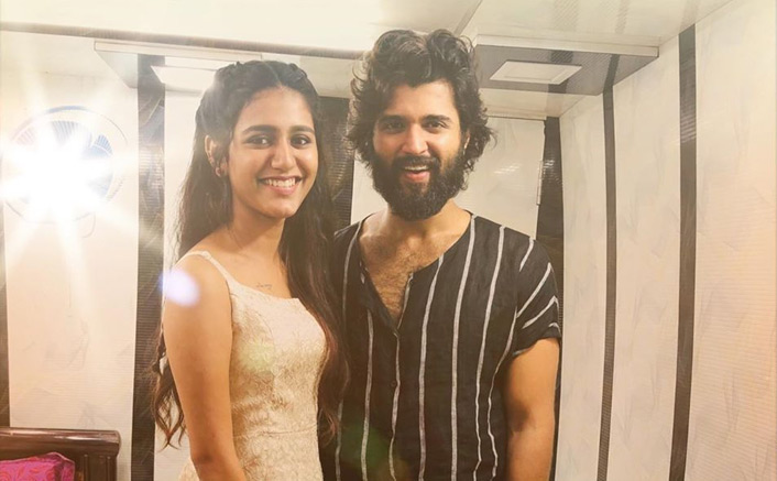 'Wink' Sensation Priya Prakash Varrier Has A VERY SPECIAL Message For 'Arjun Reddy' Star Vijay Deverakonda
