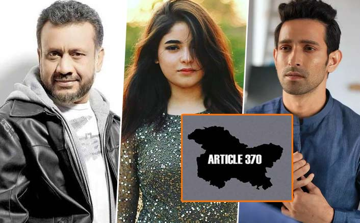 Zaira Wasim, Anubhav Sinha & Other Bollywood Celebs Speak Up After Article 370 Being Scrapped, Read Their Tweets