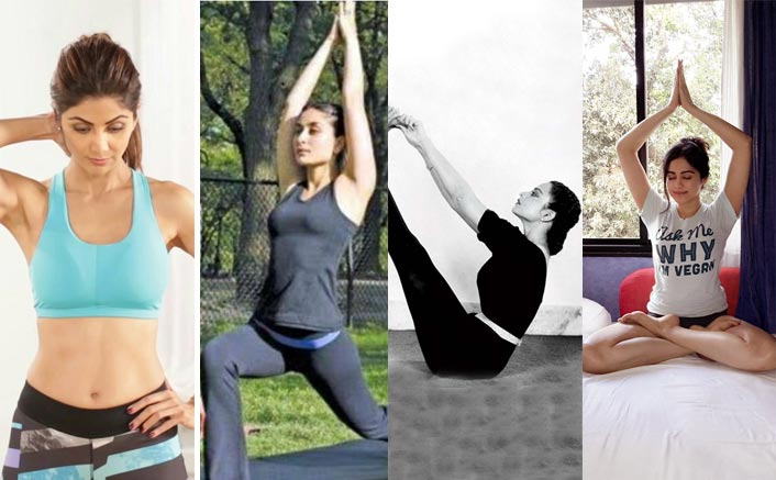 Bollywood Actresses Who Swear By Yoga & Fitness Bands Such as Helix Gusto by Timex India For Their Perfect Body