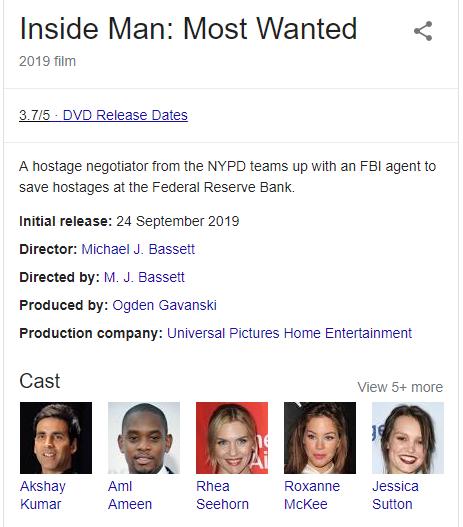 'Similar Name' On Google Search Lands Akshay Kumar Into A Hollywood Film! See Pics