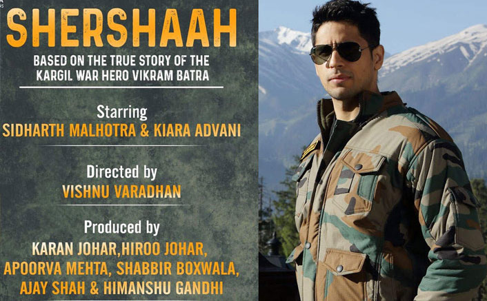 50 days and counting - Sidharth Malhotra shoots non-stop in Kargil for his 'special' film, Shershaah