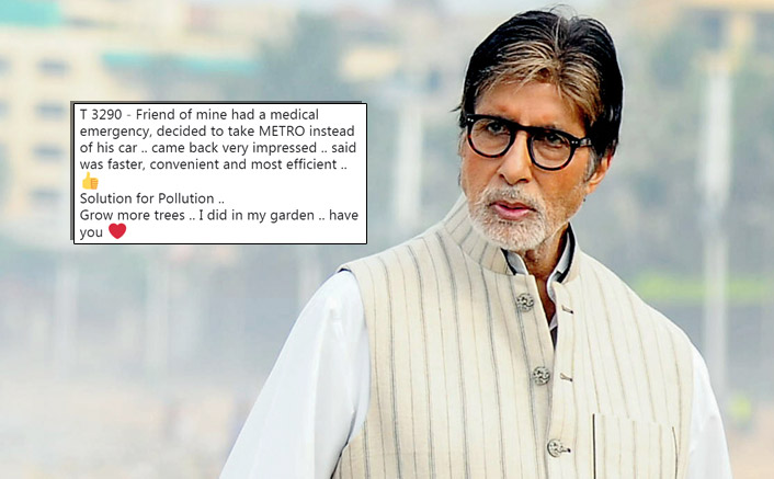 Aarey Forest Row: Amitabh Bachchan Receives Flak On Twitter & Protests Outside His Bungalow After Supporting Metro Expansion