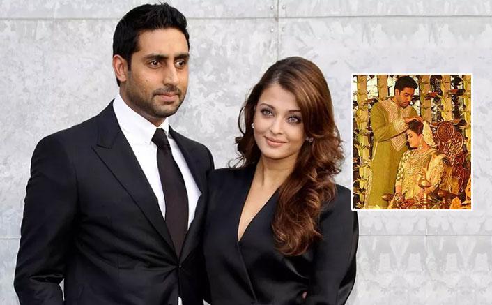 Aishwarya Rai Bachchan & Abhishek Bachchan's Happiness Knows No Bound In These Throwback Baby Shower Photos