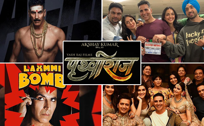 Akshay Kumar Books 5 MAJOR Festivals; From Housefull 4 On Diwali 2019 To Bachchan Pandey On Christmas 2020!