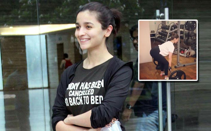 Alia Bhatt's new workout video will make you hit the gym immediately