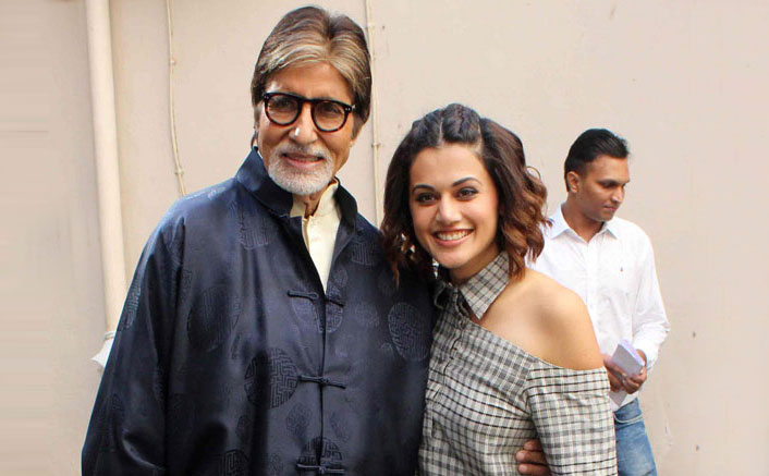 Amitabh Bachchan Calls Taapsee Pannu The Most Accomplished B-Towner!