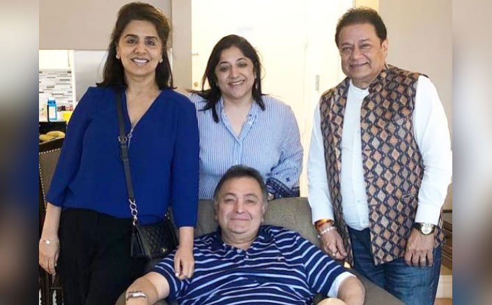"""Anup Jalota On Meeting Cancer Stricken Rishi Kapoor: """"I Am Happy That He Is Back Hale & Hearty"""""""