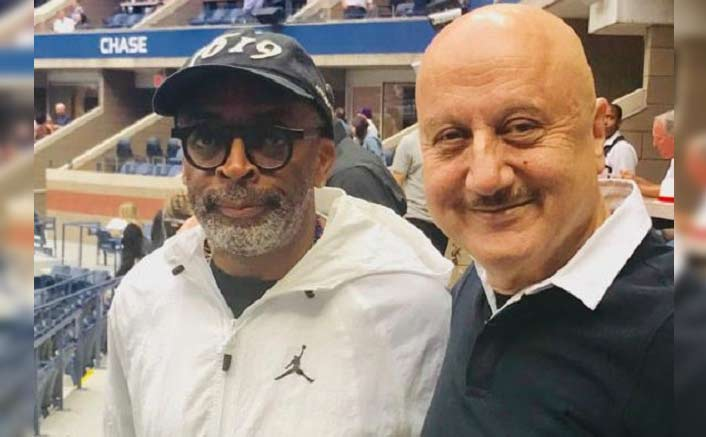 Anupam Kher & Hollywood Filmmaker Spike Lee Discuss Sports & Movies At US Open