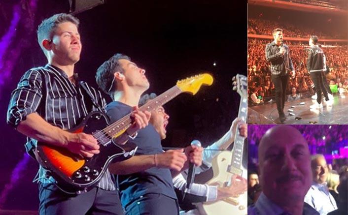 Special Invitee Anupam Kher Is Highly Impressed With Priyanka Chopra's Husband Nick Jonas' Performance!