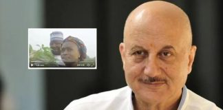 Anupam shares video of SRK's Kenyan fan singing 'DDLJ' song