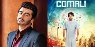Arjun Kapoor To Feature In The Hindi Remake Of Jayam Ravi's Comali
