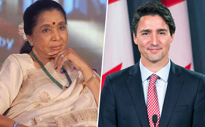 Canadian Prime Minister Justin Trudeau Wishes Asha Bhosle A Happy birthday!