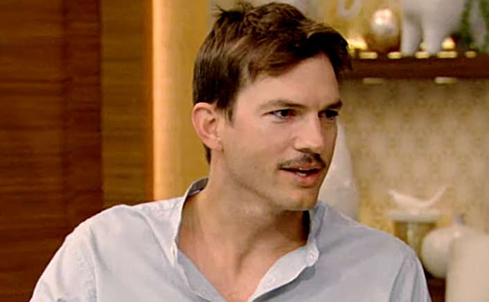 Ashton Kutcher breaks toe while putting daughter to bed