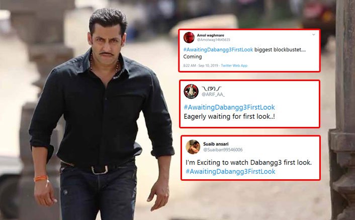 #AwaitedDabangg3FirstLook: Salman Khan Fans Trend This Hashtag On Twitter, As Dabangg Franchise Completes 9 Years Today