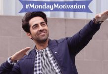 Ayushmann Khurrana's #MondayMotivation Is As Good As His Script Sense!