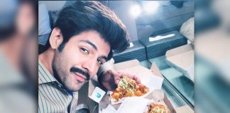 Bhumi sends 'foodie pati' Kartik pizzas