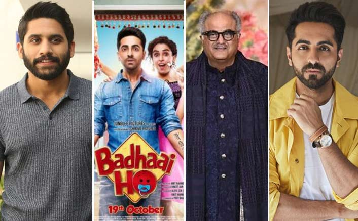 Naga Chaitanya To Reprise Ayushmann Khurrana In Boney Kapoor's Telugu Remake Of Badhaai Ho?