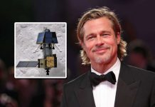 Brad Pitt asks ISS astronauts about India's Chandrayaan 2 landing on the moon!