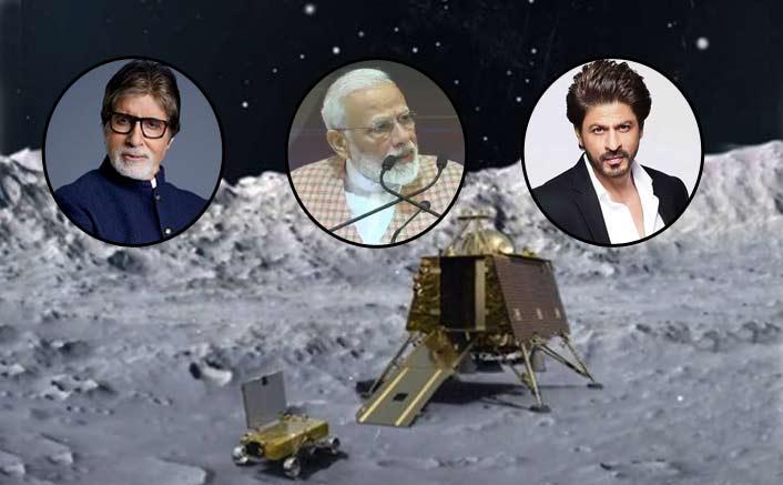 Chandrayaan 2: PM Modi, Amitabh Bachchan, Shah Rukh Khan & Other B-Town Celebs Salute ISRO Scientists & Their Efforts