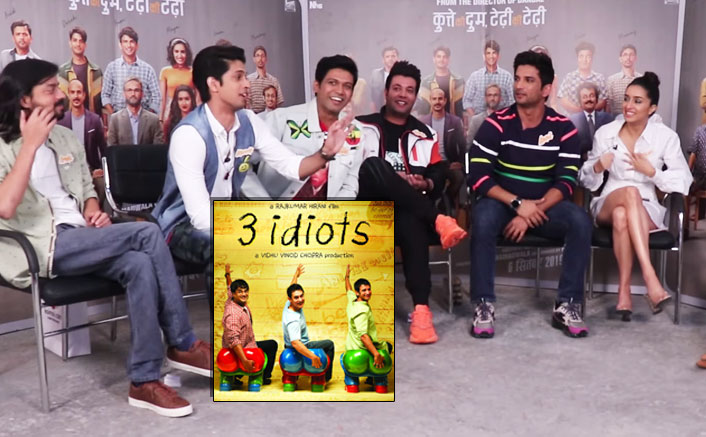 EXCLUSIVE: Sushant Singh Rajput, Varun Sharma & Team Chhichhore Has A HILARIOUS Response To Comparisons With Aamir Khan's 3 Idiots!