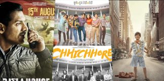 Chhichhore Box Office: Beats Zero, Batla House & 4 Others In All Time Grossers List