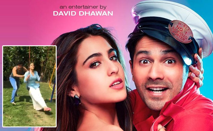 Coolie No 1: Sara Ali Khan & Varun Dhawan's Fun In The Sun On A Swing Is Our Mood On This Boring Tuesday