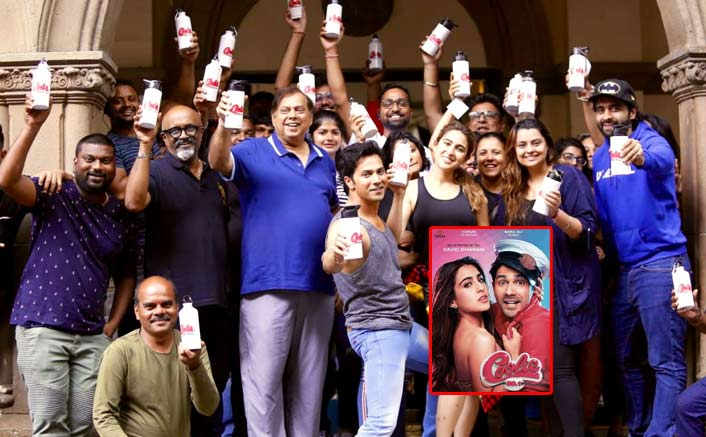 Coolie No. 1: Varun Dhawan, Sara Ali Khan & Team Go Plastic-Free Following The PM Modi's Initiative