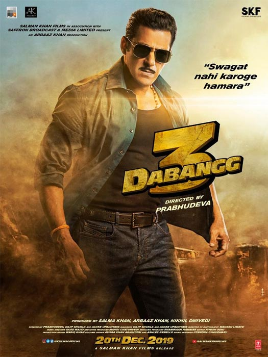 Salman Khan With His Epic SWAG(AT) Is Back With Da-Bangg!