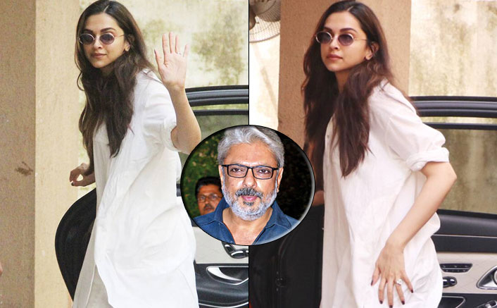 Deepika Padukone Visits Sanjay Leela Bhansali's Office, Piques Speculation For A New Project