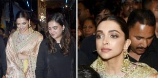 Deepika Padukone's bodyguard has a tough time keeping the mob away from her at Lalbaug cha Raja Darshan