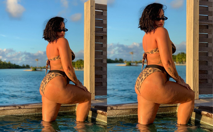 Demi Lovato Gets All Flirty With Mike Johnson In The Comments Section Of Her Unedited Bikini Photo