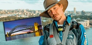 Diplo makes history at Sydney Harbour Bridge