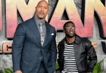 Dwayne Johnson cuts short honeymoon for buddy Kevin Hart