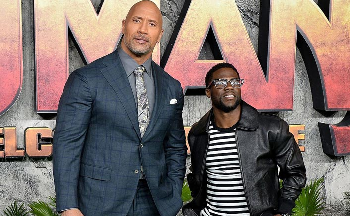 """Dwayne Johnson On Working With Kevin Hart: """"We're Very Fortunate To Continue To Be Able To Grow In Our Business"""""""