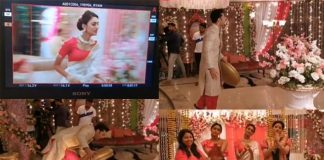 Erica Fernandes Shows How They Shoot Dramatic Saree Burning Scene & It Will Make You LOL