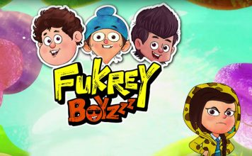Fukrey Boyzzz, the animated series of Fukrey the film to come one air from the 12th of October