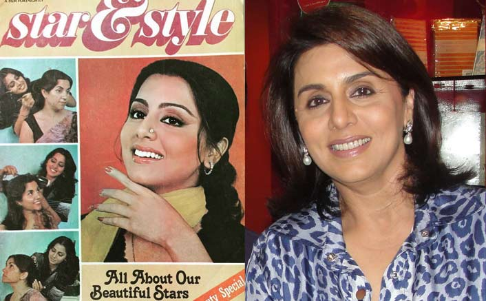 #Funfact: Neetu used hairdresser's hand to pose for cover
