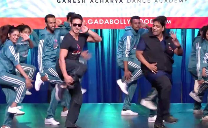 Ganesh Acharya dances to Jackky, Hrithik, Tiger's songs