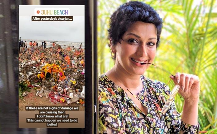 Sonali Bendre Shares The Gloomy Side Of Ganpati Visarjan!