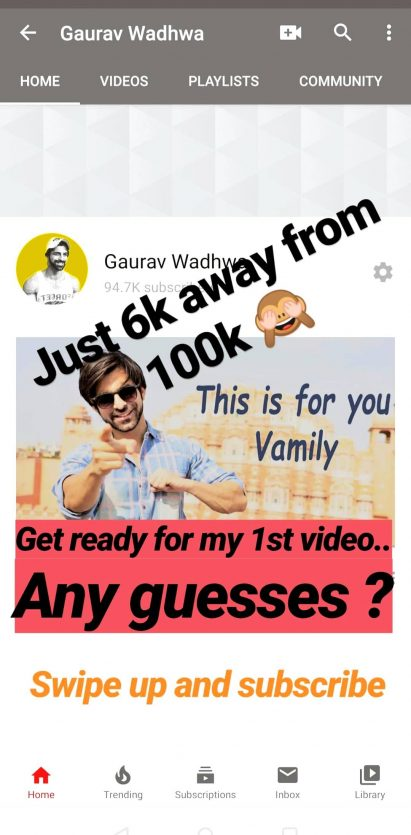RiMoRav Vlogs Fame Gaurav Wadhwa To Launch First YouTube Video On His Channel!